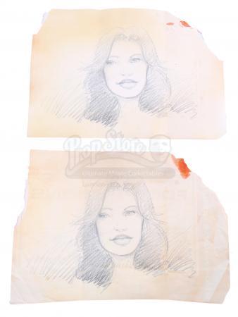 Lot # 178 - S2E11 Lost Boy: Two Bram Maya Drawings