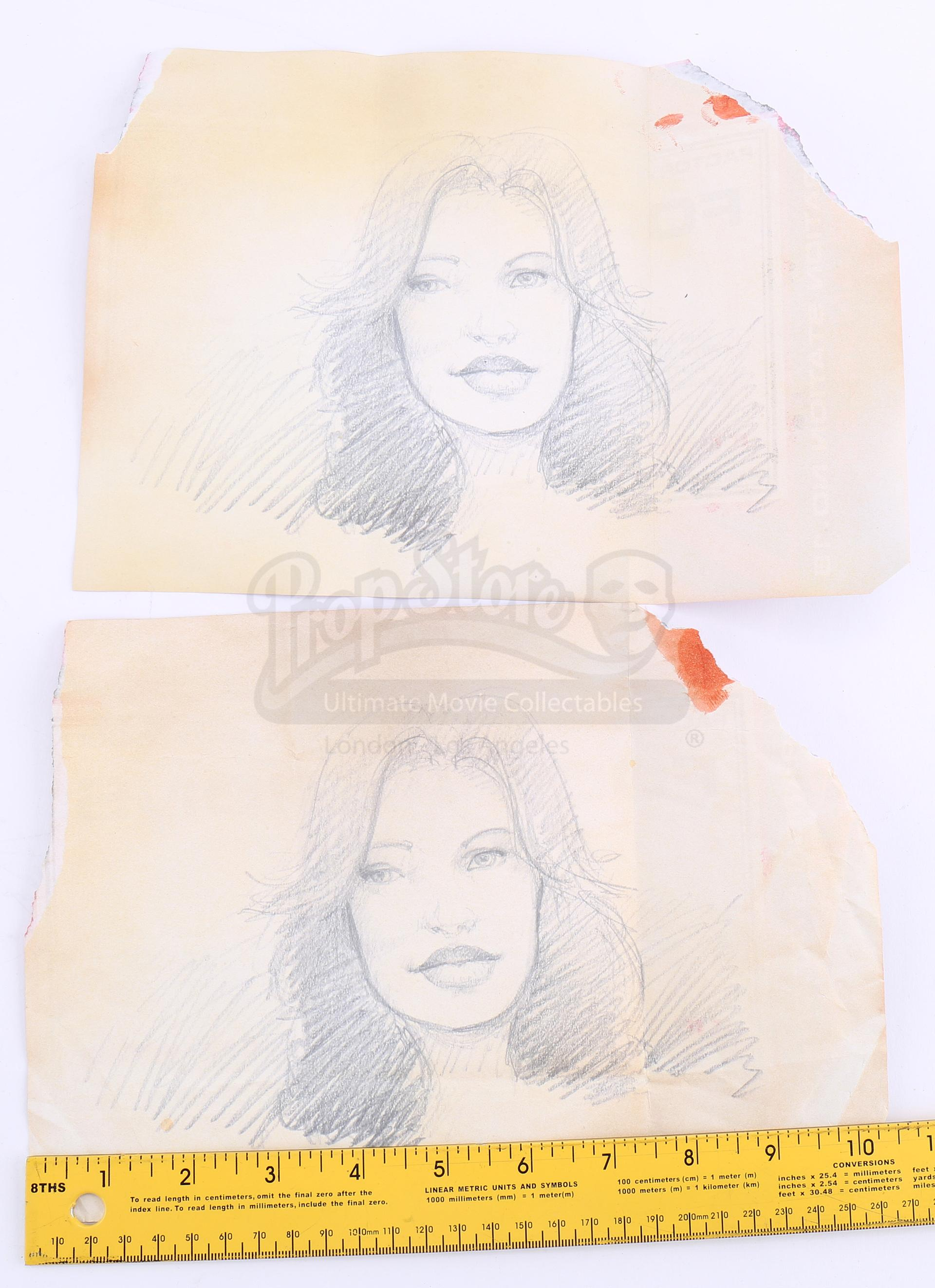 Lot # 178 - S2E11 Lost Boy: Two Bram Maya Drawings - Price Estimate