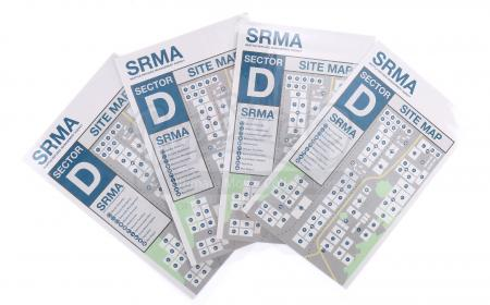 Lot # 191 - S3 Multiple Episodes: Four SRMA Site Maps