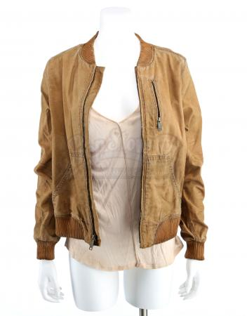 Lot # 194 - S3E01 Marquis: Katie Bowman's Forest Hideaway Jacket and Shirt