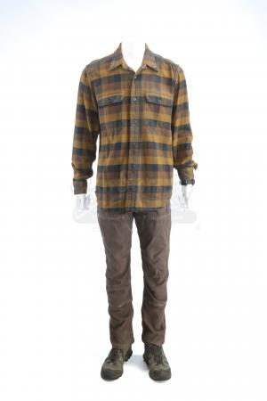 Lot # 198 - S3E01 Maquis: Will Bowman's Forest Hideaway Costume
