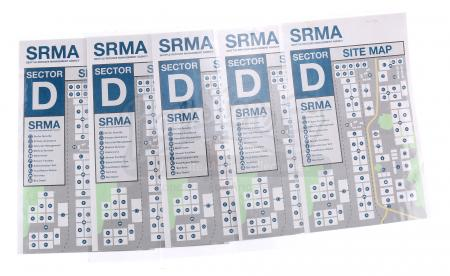 Lot # 204 - S3 Multiple Episodes: Five SRMA Site Maps