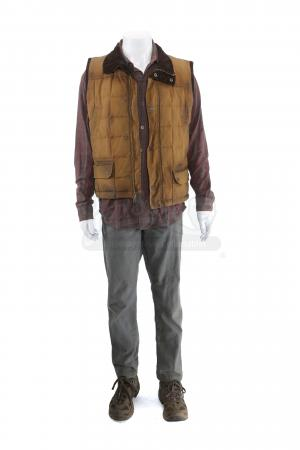 Lot # 205 - S3 Multiple Episodes: Alan Snyder's Forest Hideaway Costume
