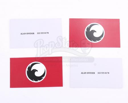 Lot # 206 - All Seasons : Four Alan Snyder Business Cards