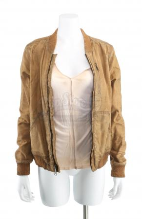 Lot # 207 - S3E01 Marquis: Katie Bowman's Forest Hideaway Jacket and Shirt