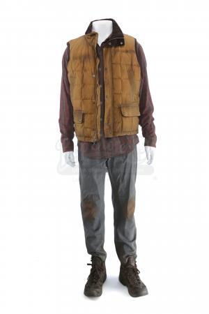 Lot # 224 - S3 Multiple Episodes: Alan Snyder's Forest Hideaway Costume