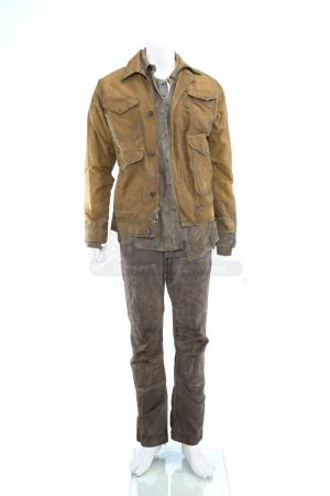 Lot # 258 - S3E02 Puzzle Man: Will Bowman's Stunt Gauntlet Exchange Costume