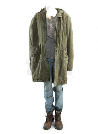Lot # 259 - S3E06 The Emerald City: Katie Bowman's Distressed Seattle Arrival Costume