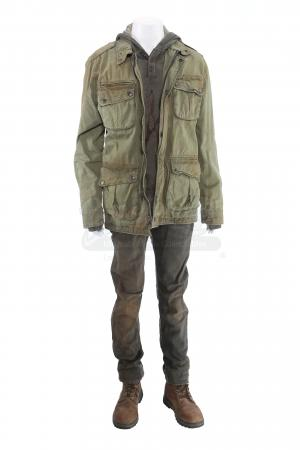Lot # 263 - S3E05 End of the Road: Bram's Distressed Forest Hideaway Costume