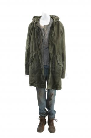 Lot # 265 - S3E06 The Emerald City: Katie Bowman's Distressed Seattle Arrival Costume