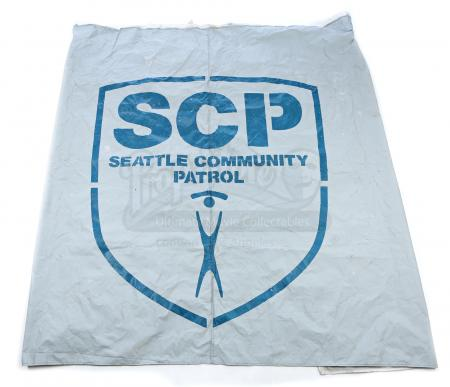 Lot # 306 - S3E11 Disposable Heroes: Seattle Community Patrol Tent Wall