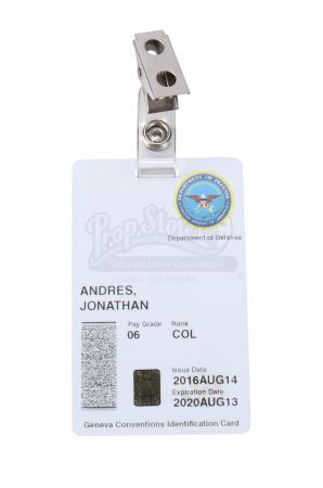 Lot # 6: Department of Defense ID Card