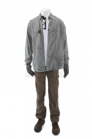 Lot # 52: Steve Forsing's (Jeffery Donovan) Distressed Convoy Ambush Costume