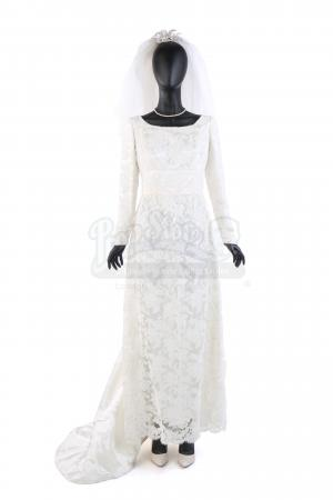 Lot # 10: Lynne Cheney's Wedding Costume