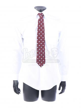 Lot # 16: George W. Bush's Iraq War Agreement Shirt and Tie