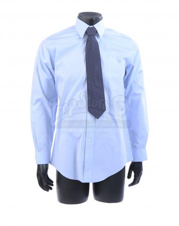 Lot # 19: George W. Bush's Cheney Beg Shirt and Tie