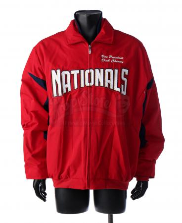 Lot # 39: Dick Cheney's First Pitch Jacket