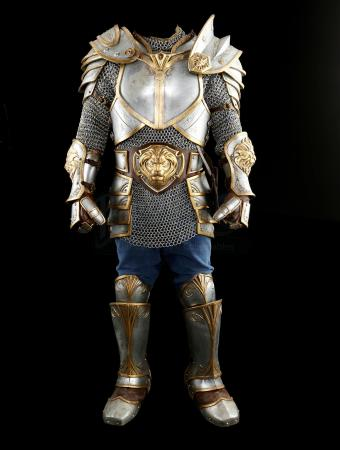 Lot # 1: King Llane's Stunt Flashback Battle Armor
