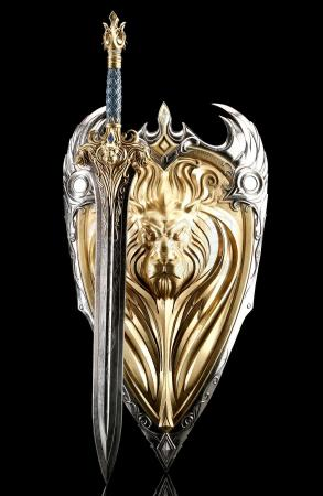 Lot # 2: King Llane's (Dominic Cooper) Sword and Shield