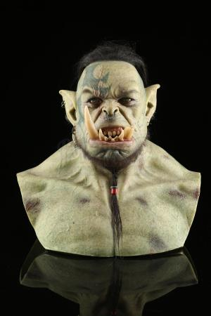 Lot # 4: Green Orc VFX Reference Bust