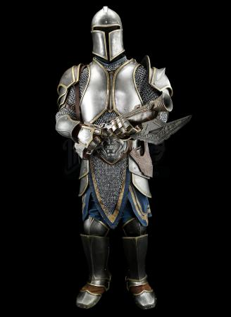 Lot # 13: Alliance Foot Soldier Armor with Hand Cannon