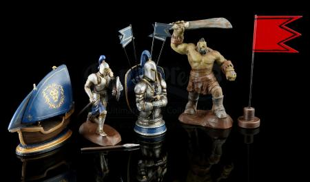 Lot # 16: Five Miniature War Room Figurines