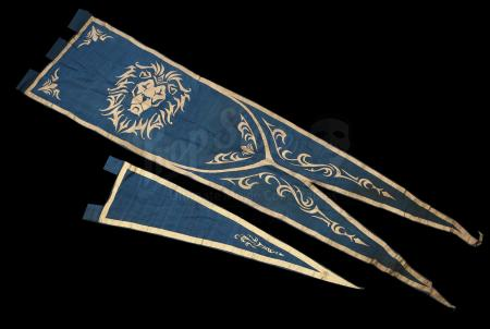 Lot # 26: Small and Medium Alliance Pennants
