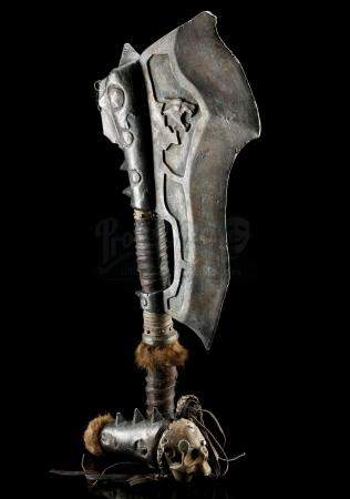 Lot # 66: Broken Frostwolf Orc Axe