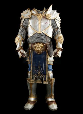 Lot # 75: King Llane's (Dominic Cooper) Flashback Battle Armor