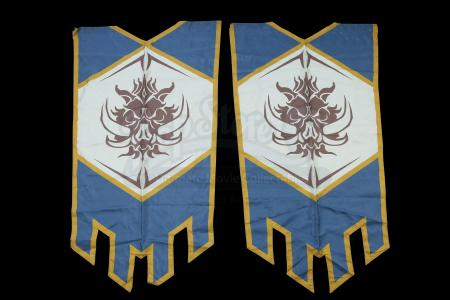 Lot # 81: Two Medium Alliance Banners