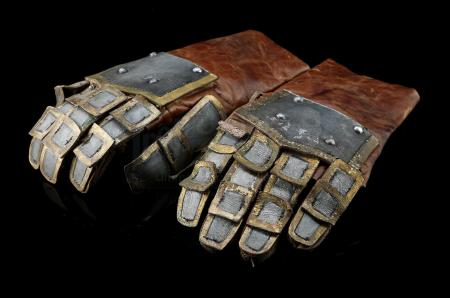 Lot # 84: Alliance Knight Stunt Gloves