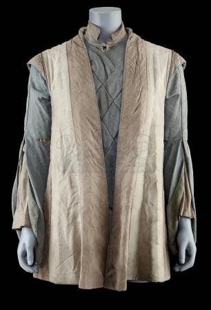 Lot # 98: Khadgar's (Ben Schnetzer) Gilet and Shirt