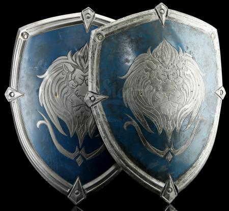 Lot # 130: Two Stormwind Castle Decor Shields