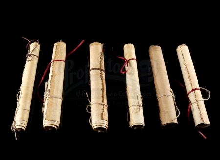 Lot # 134: Six Medivh's (Ben Foster) Library Scrolls