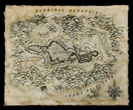 Lot # 146: Map of Lake Everstill