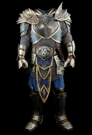 Lot # 152: Lothar's (Travis Fimmel) Distressed Troll Battle Armor