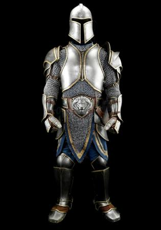 Lot # 178: Alliance Foot Soldier Distressed Armor
