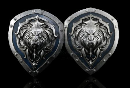 Lot # 187: Two Stormwind Castle Decor Shields
