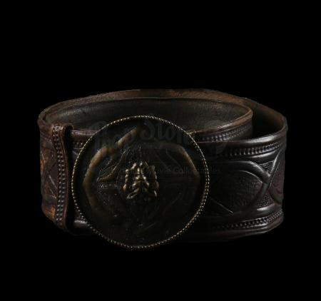 Lot # 345: Lothar's (Travis Fimmel) War Room Belt