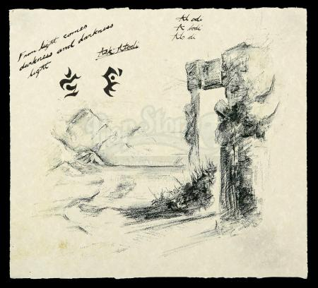 Lot # 360: Khadgar (Ben Schnetzer) Drawing Prints