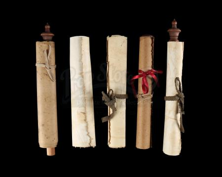 Lot # 476: Five Medivh's (Ben Foster) Library Scrolls