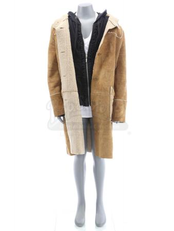 Lot # 6: Young Celeste's (Raffey Cassidy) First Recording Coat, Jacket and Shirt