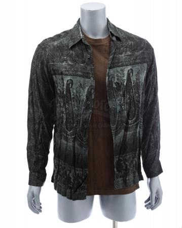 Lot # 19: The Manager's (Jude Law) Montage Shirt and Button Up