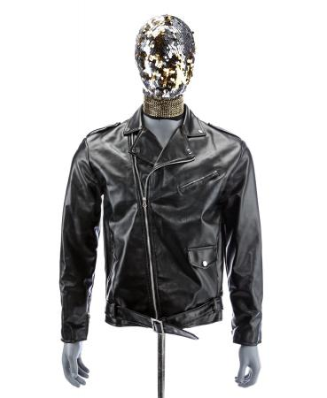 Lot # 27: Music Video Motorcyclist's Stunt Jacket and Hood