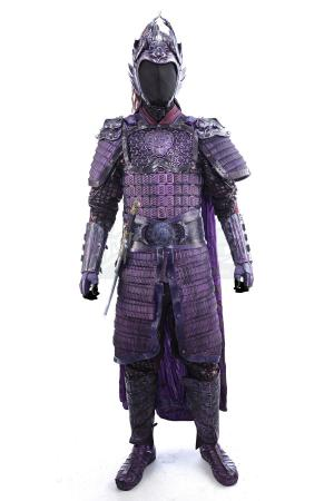 Lot # 14: Commander Deng's (Xuan Huang) Purple Deer Corps Armor with Sheathed Sword