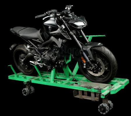 Lot # 178: JOHN WICK: CHAPTER 3 - PARABELLUM - Verrazzano Bridge Chase SFX Insert-Shot Yamaha MT-09 Motorcycle Rig