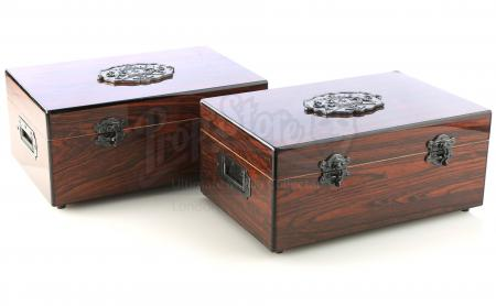 Lot # 225: JOHN WICK: CHAPTER 3 - PARABELLUM - Two Berrada Alio's High Table Humidor Boxes