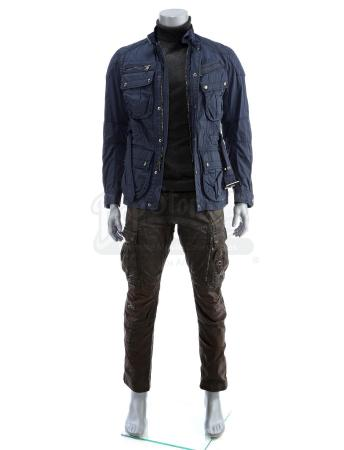 Lot # 16a: JOHN WICK: CHAPTER 2 - Cassian's Stunt Subway Fight Costume