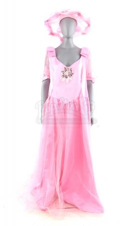 Lot # 5: FRIENDS - Barry & Mindy's Wedding Pink Bridesmaid Dress Costume