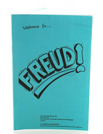 Lot # 12: FRIENDS - Joey Tribbiani's Freud! Theater Program